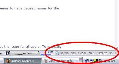 Notificador de Adsense para Mozilla Firefox