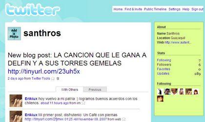 Twitter-MicroEntradas-Microblogging